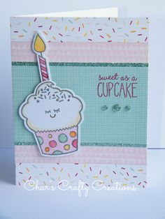 CTMH Sugar Rush card by Char's Crafty Creations using the Sweet Birthday stamp set.