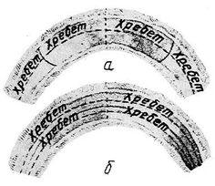 Sable - Два варианта раскроя воротника «шалевый» из четырех шкурок: а— вдогонку —огузком к шейке; б — вдоль воротника по две шкурки параллельно друг другу
