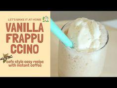 instant espresso - Vanilla Frappuccino (no syrup) / simple making iced c. Instant Espresso, Instant Coffee, Espresso Coffee, Iced Coffee, Vanilla Frappuccino, Frappuccino Recipe, Vanilla Milk, Vanilla Syrup, Espresso Recipes