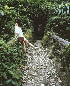 photo / rj / rio de janeiro / parque lage / look / girl / viagem / nature / park / forest