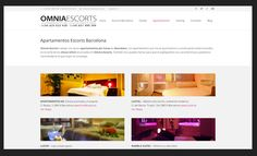 El diseño web profesional que os presento a continuación, es sobre el proyecto Omnia Escorts, Omnia Escorts es una agencia de Escorts de lujo en Barcelona.