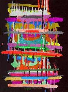 Maya Hayuk x Billabong - iphone Texture Art, Texture Painting, Polygon Art, Simple Art, Art Plastique, Geometric Art, Contemporary Paintings, Pattern Art, All Art