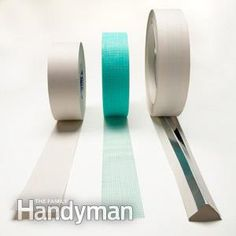 Most drywall pros will tell you that paper tape is the only way to go. Drywall Tape, Drywall Repair, Remodeling Mobile Homes, Home Remodeling, Drywall Finishing, Drywall Installation, Paper Tape, Home Repairs, Do It Yourself Home