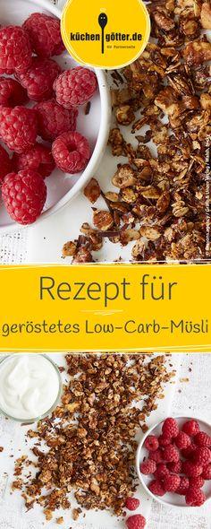 Volle Knusperkraft voraus! Besonders lecker schmeckt das geröstete Müsli mit Quark und frischen Beeren oder Obst der Saison.