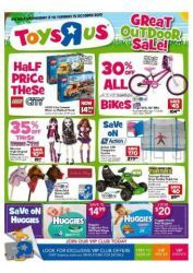 16209b630e8d Toys R Us Latest Catalogue  Great Outdoor Sale! Discounts