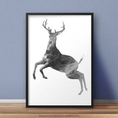 Digital Prints, Digital Art, Poster Prints, Art Prints, My Images, Deer, Moose Art, Batman, Superhero