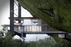 Crescent House by Saota by Héctor Javier Diez Valladares, via Behance