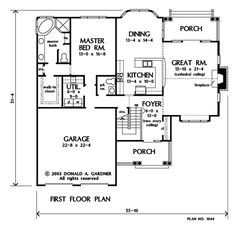 The Dayton House Plan Images - See Photos of Don Gardner House ...