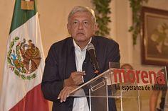 """CIUDAD DE MÉXICO (apro).- El presidente nacional de Morena, Andrés Manuel López Obrador, aseguró que en cinco distritos electorales se consumó la compra y acarreo de ciudadanos para cometer lo que llamó un """"fraude de Estado"""" en la elección para gobernador mexiquense y beneficiar con ello al priista Alfredo del Mazo Maza, primo de EnriqueLeer más"""