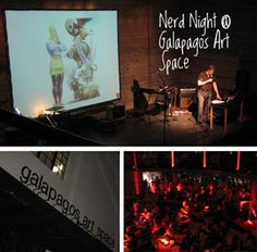 Nerd Nite NYC- a monthly lecture series in a bar by diverse dedicated hipster kids on subjects of their choosing.  Things I've learned from Nerd Nite: how to smuggle artifacts, how to create a zombie apocalypse through biological warfare, and what time-pieces have in common with bbq.