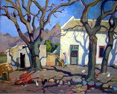 Gregoire Boonzaier「Hoogenhout Farm」(1942)