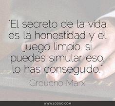 Lo dijo... Groucho Marx | Frases célebres y dichos populares