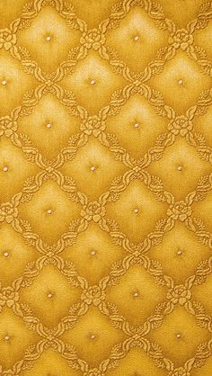 Yellow Wallpaper leather texture