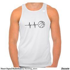 Heart Signal Basketball Camiseta De Tirantes Deportiva New Balance