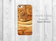 iPhone 5C Case Wood tree ring iPhone 5S Case brown by morecase, $7.99