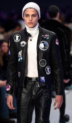 Male Models — Brodie Scott | Versace FW16 - Milan | ph. Daniel...