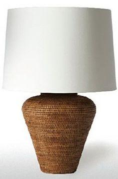 Barbara Cosgrove Basket Urn Table Lamp