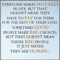 I will learn from my mistakes!