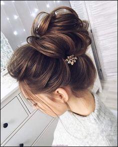 20 besten Abiye Topuz Saç Modelleri Bilder auf Pinterest ... | Einfache Frisuren