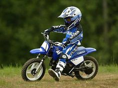 Never to young to ride