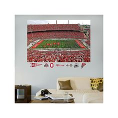Fathead Ohio State Buckeyes Stadium Mural Wall Decals, Multicolor Part 91