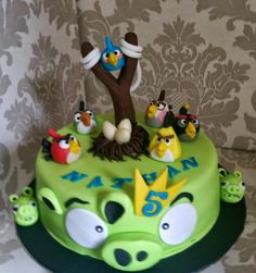 Angry Birds... for little ones and the game addicts.!!