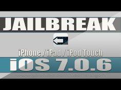 Como fazer jailbreak iOS 7 0 6  iPhone  iPad  iPod Touch