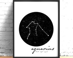 Modern Minimalist Colorful Printable by KitchenSinkPrintShop Wall Art Sets, Large Wall Art, Wall Art Prints, White Art, Black And White, White Wall Decor, Zodiac Constellations, Scandinavian Art, Decorating On A Budget