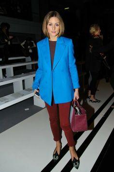 Frontrow London Fashion Week 2014: Olivia Palermo  http://glamour.nl/jy7ebdfnt :