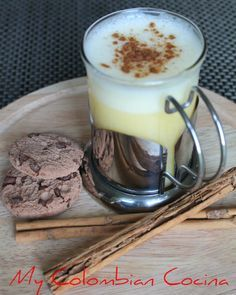 Caspiroleta- Ponche -Candil Colombia, cocina, receta, recipe, colombian, comida.