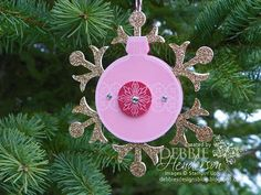 Debbie's Designs: 12 Days of Christmas Ornaments Day #7!