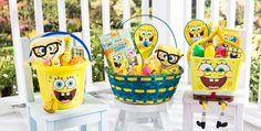 Build Your Own SpongeBob Easter Basket