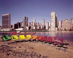 Martela chairs, lovely Kilta variations on the left side.
