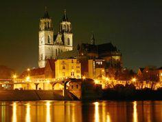 Magdeburg, reizvolle Stadt für Ausflüge. Urheber des Fotos: Prinz Wilbert
