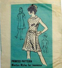1960s Mod Dress Pattern