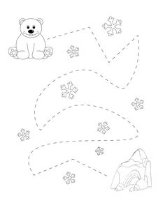 Body Preschool, Preschool Writing, Preschool Learning Activities, Preschool Themes, Preschool Worksheets, Winter Activities For Toddlers, Winter Crafts For Kids, Toddler Activities, Artic Animals