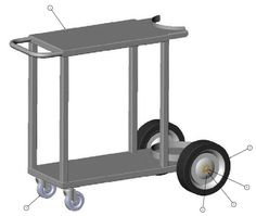 If you want to build a welding cart for MIG, TIG, or ARC welding then this tutorial and blueprints will guide you.