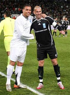 Ronaldo & Zidane #Legends
