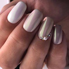 Beautiful winter nail designs page 38 Cute Nail Art, Cute Nails, Pretty Nails, Perfect Nails, Gorgeous Nails, Amazing Nails, Glam Nails, Pink Nails, Bridal Nails