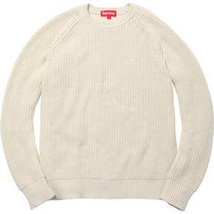 Supreme rib crew neck sweater