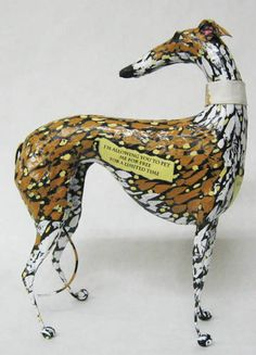 laminated paper (papier mache') sculptures by Steven F. Wirtz