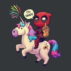 Deadpool Infinity Chimichanga T-Shirt
