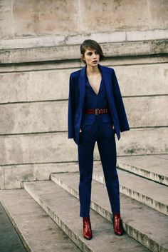Power Suits For Women - Street Style Looks (25)