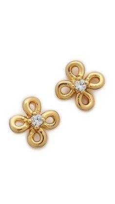 lily tiny shimmer stud earrings / gorjana