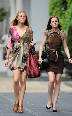 gossip girl serena and blair | ... ChocoBrilhante: Looks Blair & Serena in Paris (Gossip girl 4 season