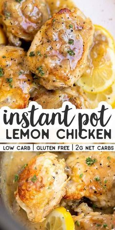 Make this Instant Pot Lemon Chicken for dinner toni&; Make this Instant Pot Lemon Chicken for dinner toni&; Chicken recipes Make this Instant Pot Lemon Chicken for […] instant pot vegan Healthy Chicken Recipes, Cooking Recipes, Keto Recipes, Cooking Ingredients, Low Carb Chicken Dinners, Healthy Lemon Recipes, Easy Chicken Meals, Instapot Recipes Chicken, Soup Recipes