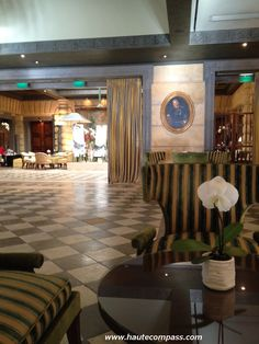 Lobby Hotel Metropole Monte Carlo