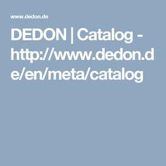 DEDON | Catalog - http://www.dedon.de/en/meta/catalog
