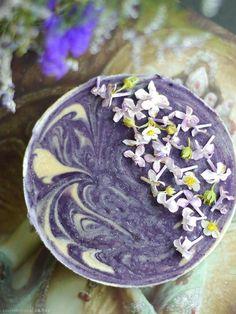 Lilac Dream Cheese Cake