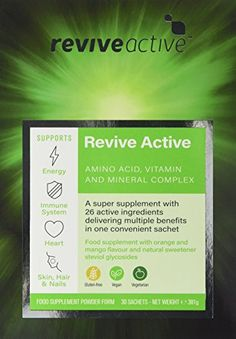 The Product Revive Active Health Food Supplement – 30 Day Supply  Can Be Found At - http://vitamins-minerals-supplements.co.uk/product/revive-active-health-food-supplement-30-day-supply/